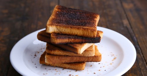 The end of burnt toast