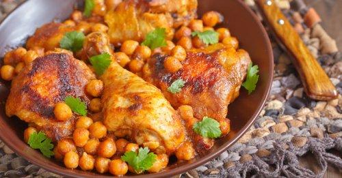 Chicken, chorizo & chickpea stew