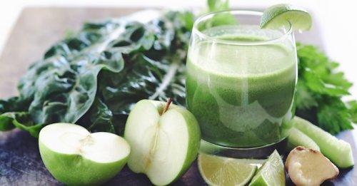 Green pick me up juice