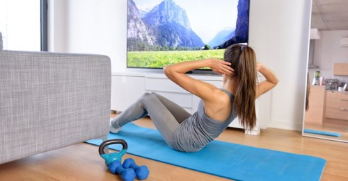 Get fit while watching TV