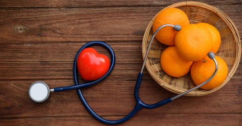 Lower BP with vit C