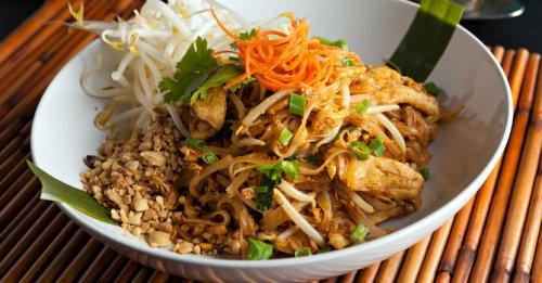 Thai satay stir fry