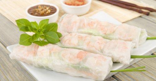 Vietnamese prawn roll