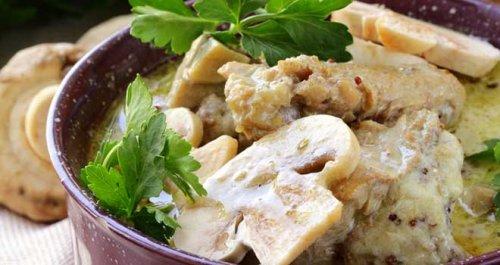 Chicken & leek stew