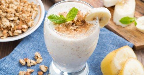 Drinkable pistachio-oatmeal