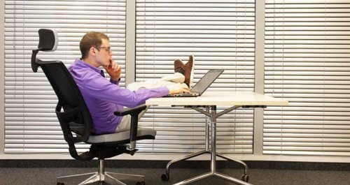 How's your work posture?